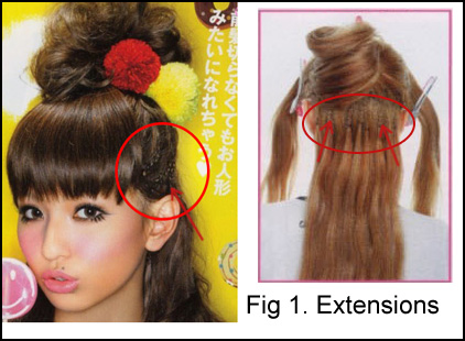 Xelyna the gothic lolita japanese hair extensions 101 japanese hair extensions 101 pmusecretfo Image collections